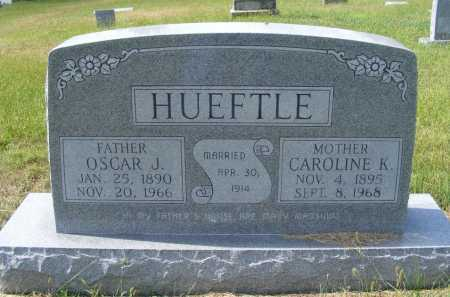 HUEFTLE, CAROLINE K. - Frontier County, Nebraska   CAROLINE K. HUEFTLE - Nebraska Gravestone Photos