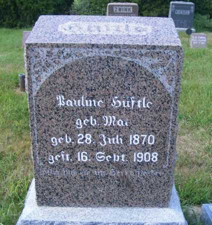 HUEFTLE, PAULINE - Frontier County, Nebraska   PAULINE HUEFTLE - Nebraska Gravestone Photos