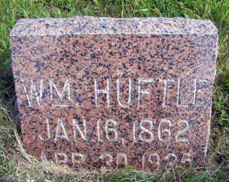 HUEFTLE, WILLIAM - Frontier County, Nebraska | WILLIAM HUEFTLE - Nebraska Gravestone Photos