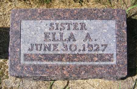 IHFE, ELLA A. - Frontier County, Nebraska | ELLA A. IHFE - Nebraska Gravestone Photos