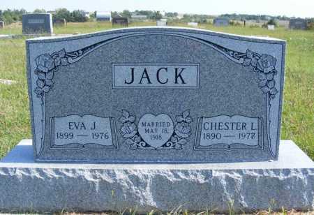 JACK, CHESTER L. - Frontier County, Nebraska | CHESTER L. JACK - Nebraska Gravestone Photos