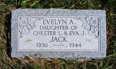 JACK, EVELYN A. - Frontier County, Nebraska | EVELYN A. JACK - Nebraska Gravestone Photos
