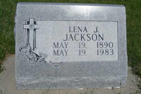 JACKSON, LENA J. - Frontier County, Nebraska | LENA J. JACKSON - Nebraska Gravestone Photos