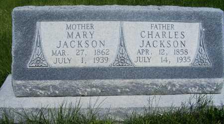 SETH JACKSON, MARY - Frontier County, Nebraska | MARY SETH JACKSON - Nebraska Gravestone Photos
