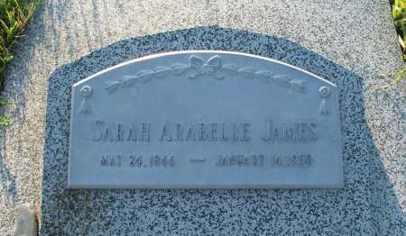 JAMES, SARAH ARABELLE - Frontier County, Nebraska | SARAH ARABELLE JAMES - Nebraska Gravestone Photos