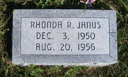 JANUS, RHONDA R. - Frontier County, Nebraska | RHONDA R. JANUS - Nebraska Gravestone Photos