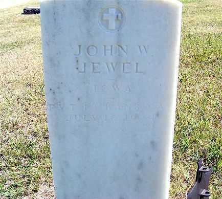 JEWEL, JOHN W. - Frontier County, Nebraska | JOHN W. JEWEL - Nebraska Gravestone Photos