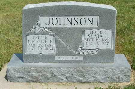 JOHNSON, SILVIA L. - Frontier County, Nebraska | SILVIA L. JOHNSON - Nebraska Gravestone Photos