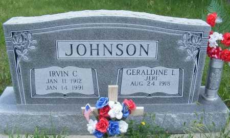 JOHNSON, GERALDINE L. (JERI) - Frontier County, Nebraska | GERALDINE L. (JERI) JOHNSON - Nebraska Gravestone Photos