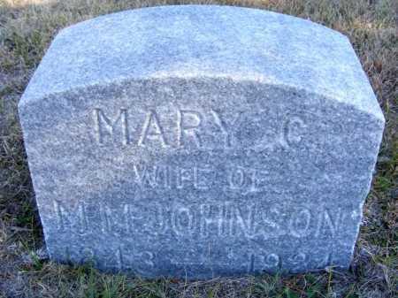 JOHNSON, MARY C. - Frontier County, Nebraska | MARY C. JOHNSON - Nebraska Gravestone Photos