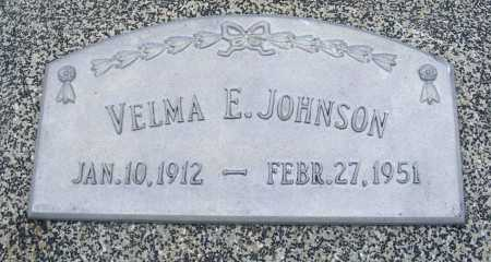 HAND JOHNSON, VELMA E. - Frontier County, Nebraska | VELMA E. HAND JOHNSON - Nebraska Gravestone Photos