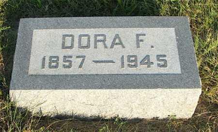 JOHNSTON, DORA F. - Frontier County, Nebraska | DORA F. JOHNSTON - Nebraska Gravestone Photos