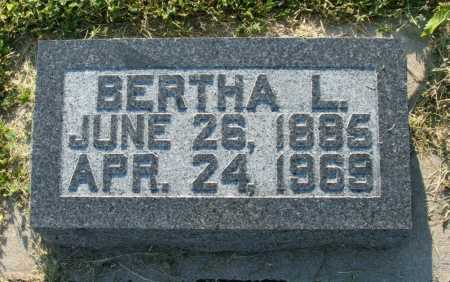 WAGNER JONES, BERTHA L. - Frontier County, Nebraska | BERTHA L. WAGNER JONES - Nebraska Gravestone Photos