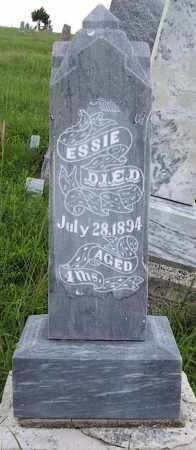 JONES, ESSIE - Frontier County, Nebraska | ESSIE JONES - Nebraska Gravestone Photos