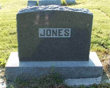 JONES, FAMILY - Frontier County, Nebraska | FAMILY JONES - Nebraska Gravestone Photos
