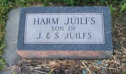 JUILFS, HARM - Frontier County, Nebraska   HARM JUILFS - Nebraska Gravestone Photos
