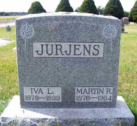 JURJENS, MARTIN R. - Frontier County, Nebraska   MARTIN R. JURJENS - Nebraska Gravestone Photos