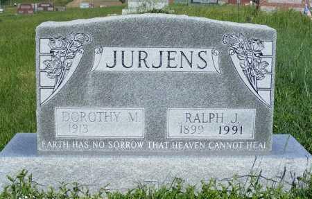 JURJENS, DOROTHY M. - Frontier County, Nebraska   DOROTHY M. JURJENS - Nebraska Gravestone Photos