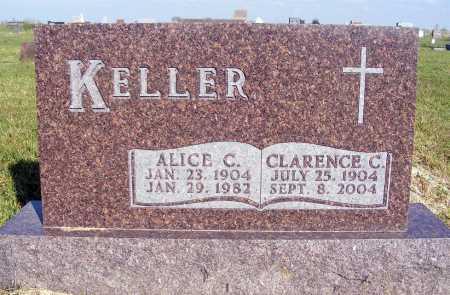 KELLER, CLARENCE C. - Frontier County, Nebraska | CLARENCE C. KELLER - Nebraska Gravestone Photos