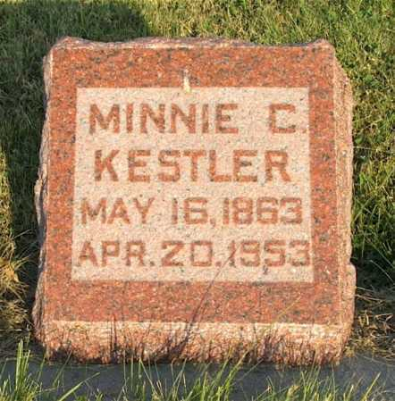 KESTLER, MINNIE C. - Frontier County, Nebraska | MINNIE C. KESTLER - Nebraska Gravestone Photos
