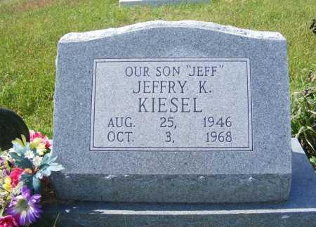 KIESEL, JEFFRY K. - Frontier County, Nebraska | JEFFRY K. KIESEL - Nebraska Gravestone Photos