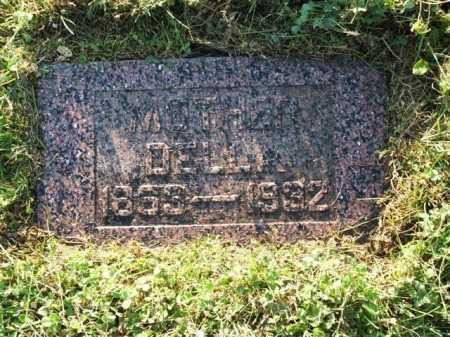 KISTLER, DELLA - Frontier County, Nebraska   DELLA KISTLER - Nebraska Gravestone Photos
