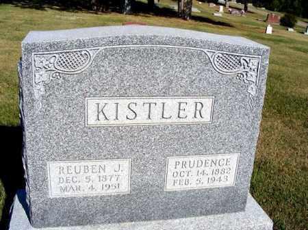 KISTLER, REUBEN J. - Frontier County, Nebraska | REUBEN J. KISTLER - Nebraska Gravestone Photos