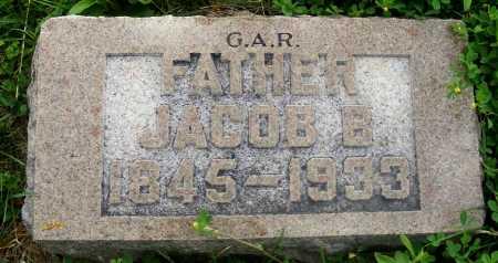 KITCHEN, JACOB B. - Frontier County, Nebraska | JACOB B. KITCHEN - Nebraska Gravestone Photos