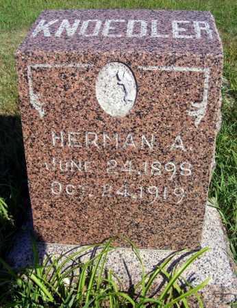 KNOEDLER, HERMAN A. - Frontier County, Nebraska   HERMAN A. KNOEDLER - Nebraska Gravestone Photos