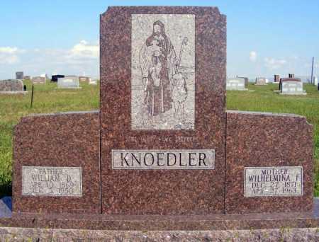 KNOEDLER, WILLIAM D. - Frontier County, Nebraska | WILLIAM D. KNOEDLER - Nebraska Gravestone Photos
