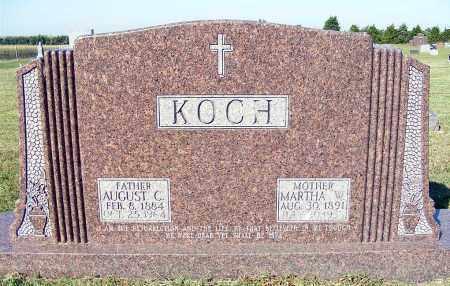 KOCH, MARTHA W. - Frontier County, Nebraska | MARTHA W. KOCH - Nebraska Gravestone Photos