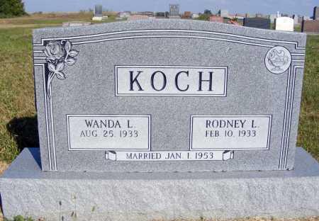 KOCH, WANDA L. - Frontier County, Nebraska | WANDA L. KOCH - Nebraska Gravestone Photos