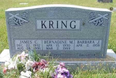 KRING, JAMES C. - Frontier County, Nebraska | JAMES C. KRING - Nebraska Gravestone Photos