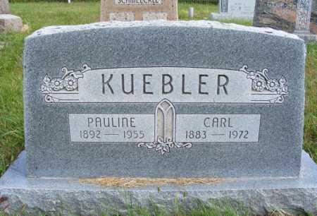 KUEBLER, PAULINE - Frontier County, Nebraska | PAULINE KUEBLER - Nebraska Gravestone Photos