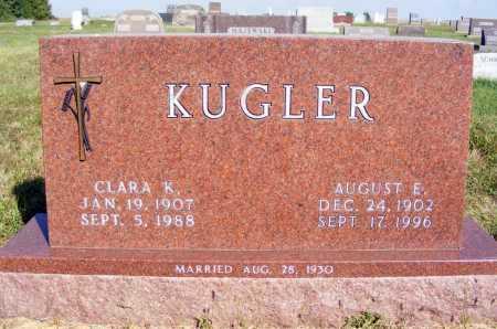 KUGLER, CLARA K. - Frontier County, Nebraska | CLARA K. KUGLER - Nebraska Gravestone Photos