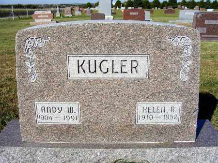 KUGLER, HELEN R. - Frontier County, Nebraska | HELEN R. KUGLER - Nebraska Gravestone Photos