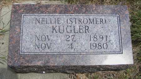 STROMER KUGLER, NELLIE - Frontier County, Nebraska   NELLIE STROMER KUGLER - Nebraska Gravestone Photos