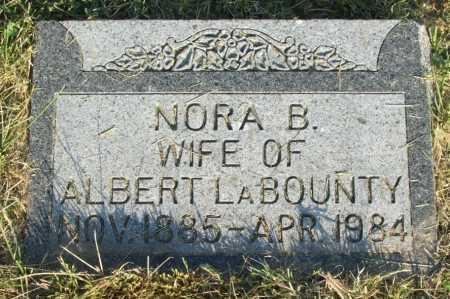 LABOUNTY, NORA B. - Frontier County, Nebraska | NORA B. LABOUNTY - Nebraska Gravestone Photos