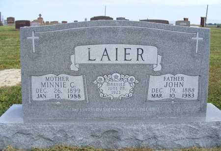 LAIER, JOHN - Frontier County, Nebraska | JOHN LAIER - Nebraska Gravestone Photos