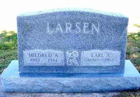 LARSEN, MILDRED A. - Frontier County, Nebraska | MILDRED A. LARSEN - Nebraska Gravestone Photos