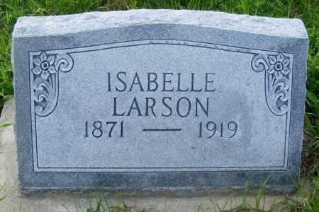 LARSON, ISABELLE - Frontier County, Nebraska | ISABELLE LARSON - Nebraska Gravestone Photos