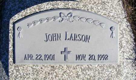 LARSON, JOHN - Frontier County, Nebraska | JOHN LARSON - Nebraska Gravestone Photos