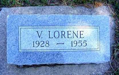 LARSON, VIVIAN LORENE - Frontier County, Nebraska   VIVIAN LORENE LARSON - Nebraska Gravestone Photos