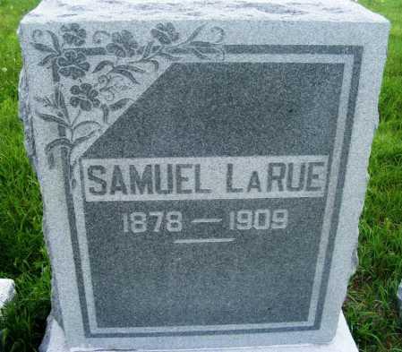 LARUE, SAMUEL - Frontier County, Nebraska | SAMUEL LARUE - Nebraska Gravestone Photos