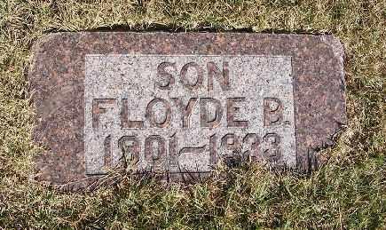 LEACH, FLOYDE B. - Frontier County, Nebraska   FLOYDE B. LEACH - Nebraska Gravestone Photos
