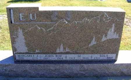 LEU, JOHN ROY - Frontier County, Nebraska | JOHN ROY LEU - Nebraska Gravestone Photos