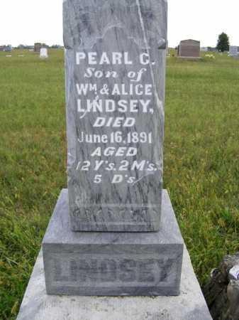 LINDSEY, PEARL C. - Frontier County, Nebraska   PEARL C. LINDSEY - Nebraska Gravestone Photos