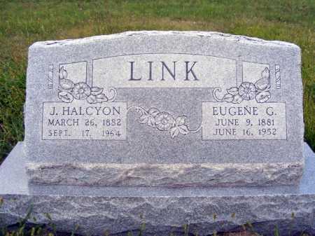 LINK, EUGENE G. - Frontier County, Nebraska | EUGENE G. LINK - Nebraska Gravestone Photos