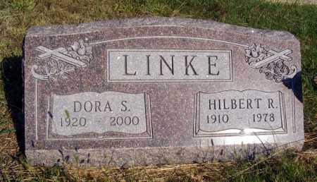 LINKE, HILBERT R. - Frontier County, Nebraska | HILBERT R. LINKE - Nebraska Gravestone Photos