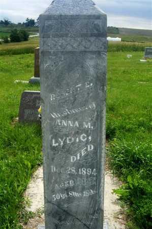 LYDIC, ROBERT L. - Frontier County, Nebraska   ROBERT L. LYDIC - Nebraska Gravestone Photos